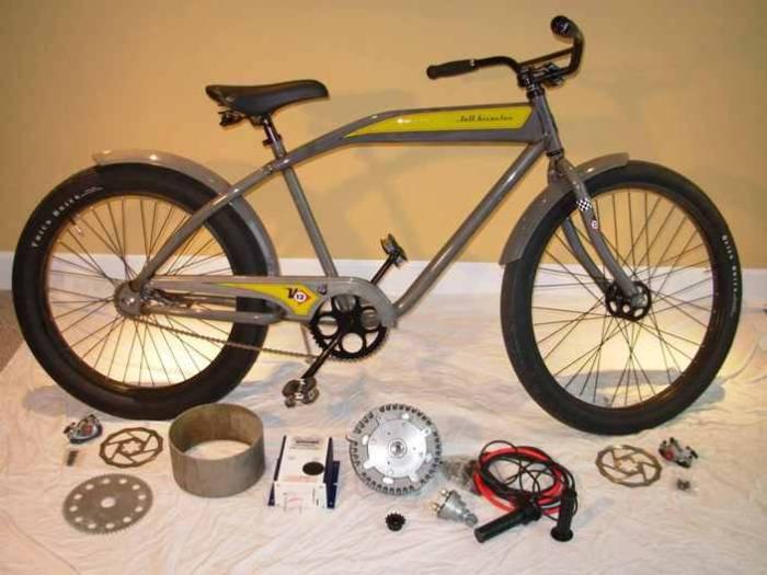 48-Ми вольтовый велосипед