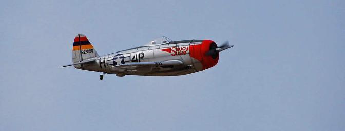 Alfa model thunderbolt p-47d