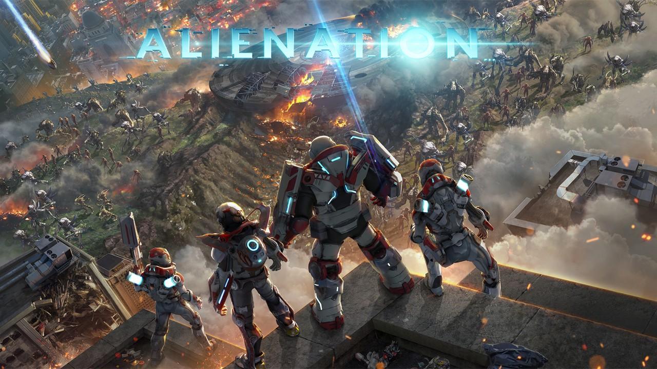 Alienation - совместное уничтожение инопланетян [ps4]