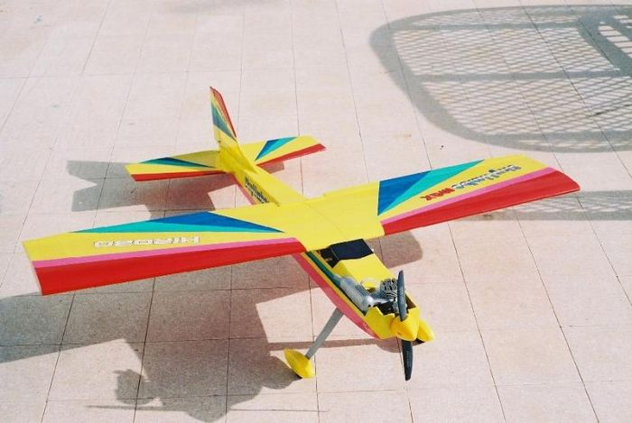Arf от hirobo sky limbo max, или пилотажка-высокоплан