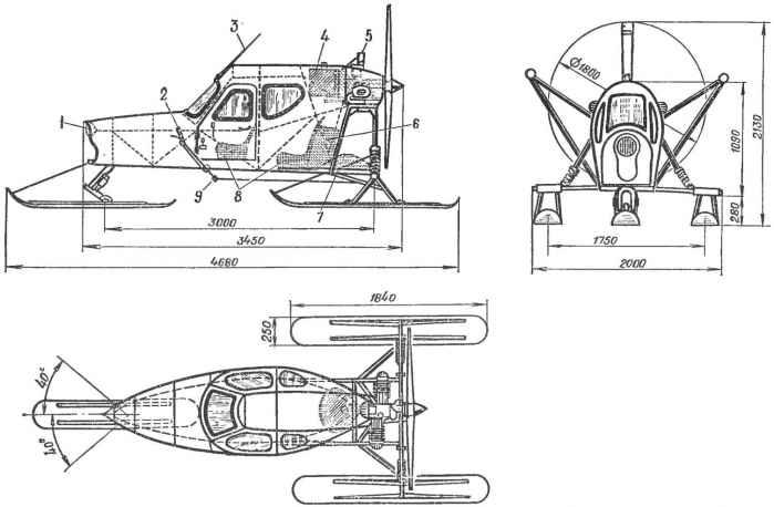 Асп-3: аэросани из уфы