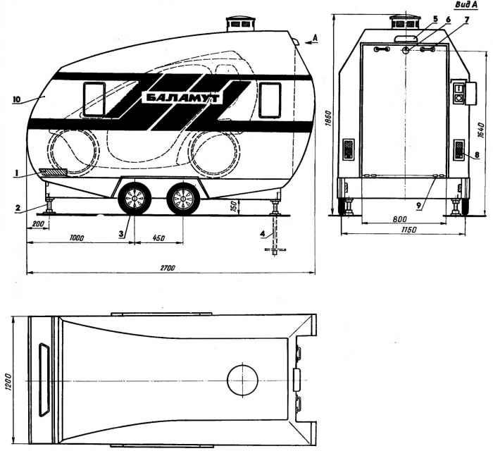 Баламут - гараж на... колесах