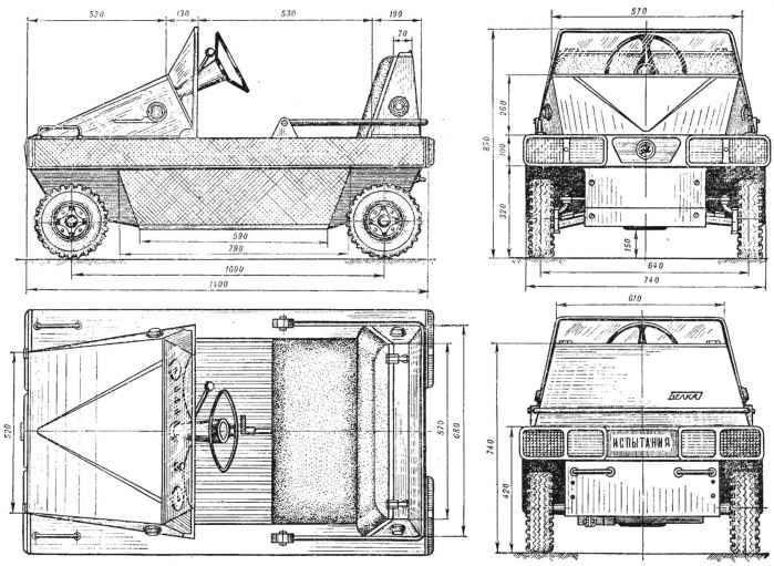 «Белка» — модульный микроавтомобиль