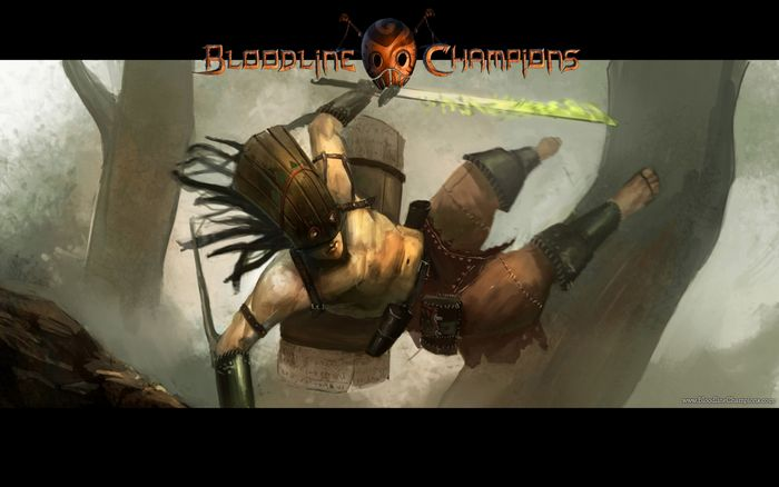 Bloodline champions - локализованная версия