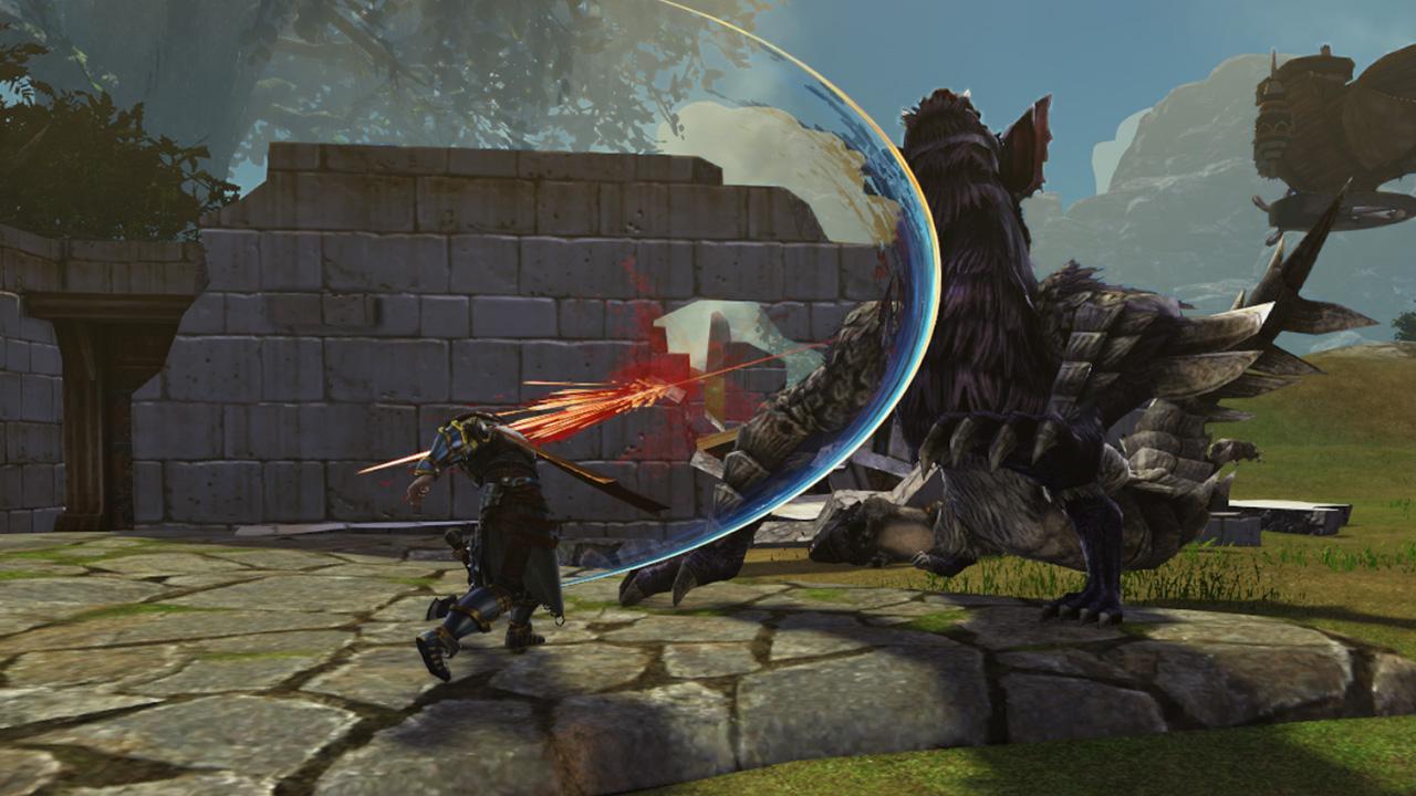 Боевая система в dragon's prophet