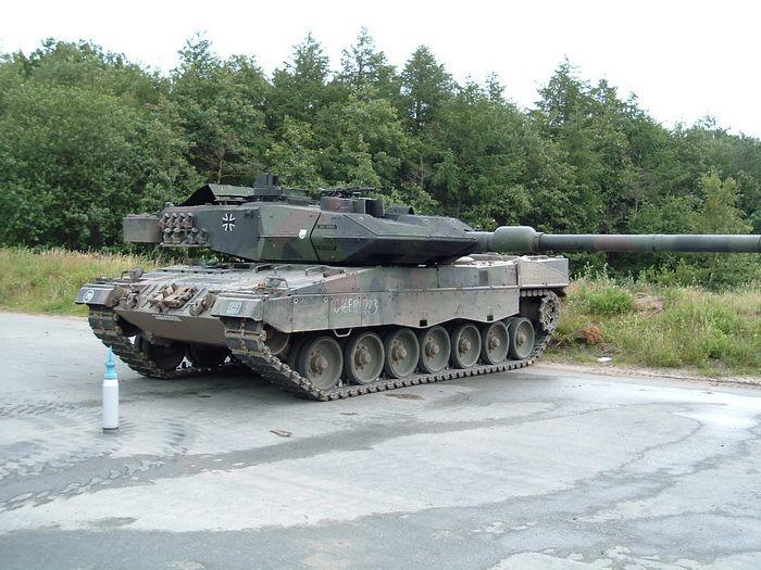 Боевые машины мира №3, обзор журнала - леопард-2 (германия, 1997)