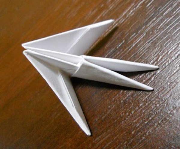 Картина из треугольных модулей схемы