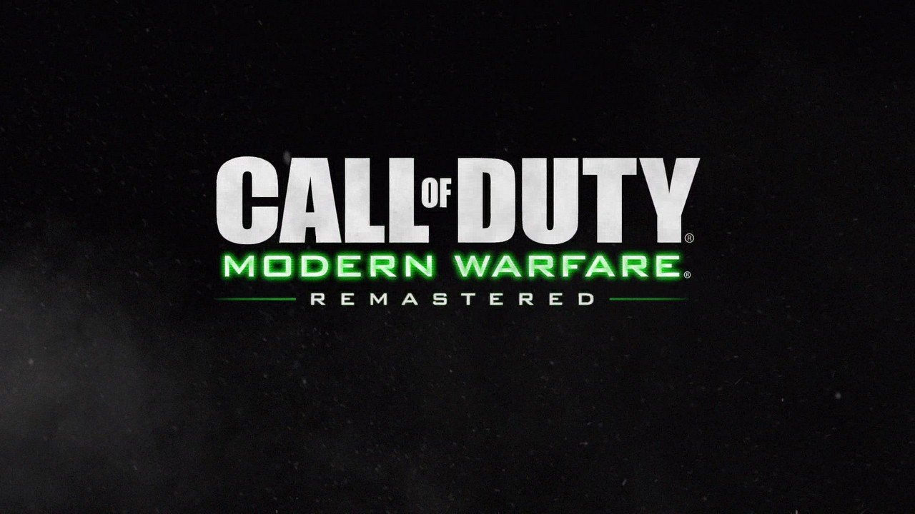Call of duty: modern warfare remastered - правильный ремейк!