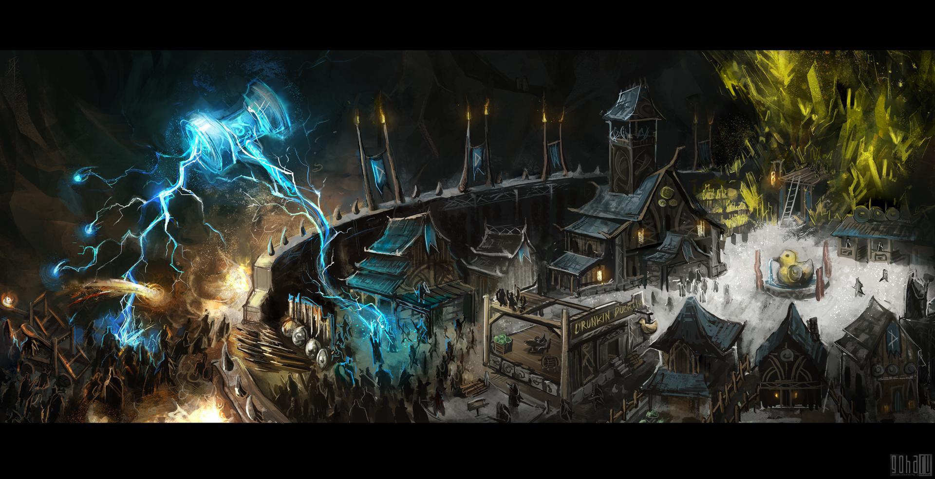 Camelot unchained: спасение rvr или сказки старых dnd'шников?