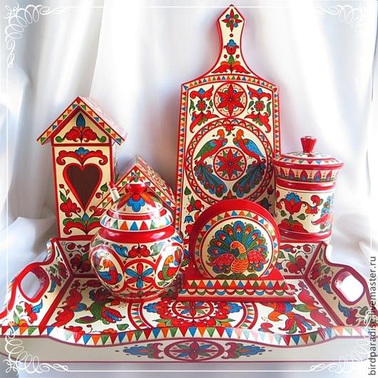 Чайный набор - деревянная посуда