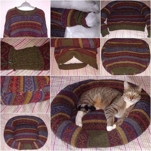 Что можно сделать из старого свитера своими руками?