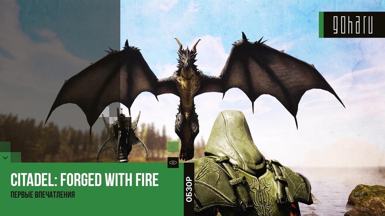 Citadel: forged with fire - первые впечатления