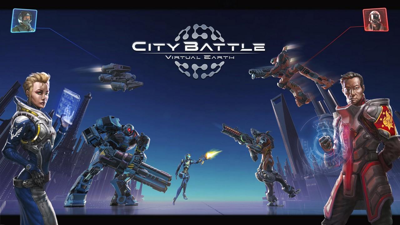 City battle | virtual earth