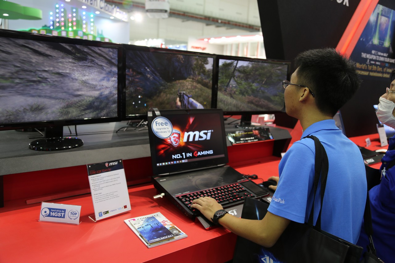 Computex 2015 msi edition