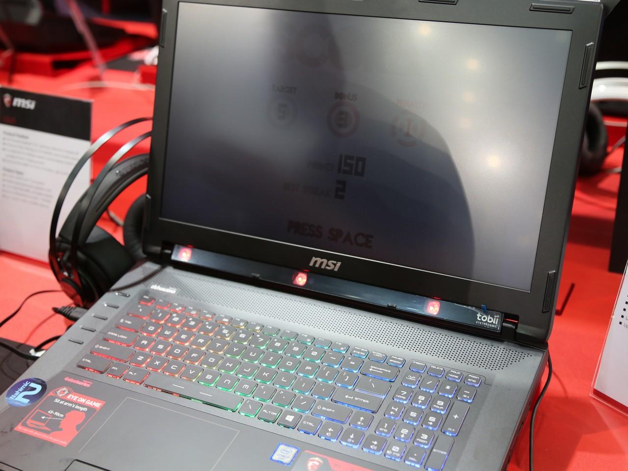 [Computex 2016] ноутбуки от msi
