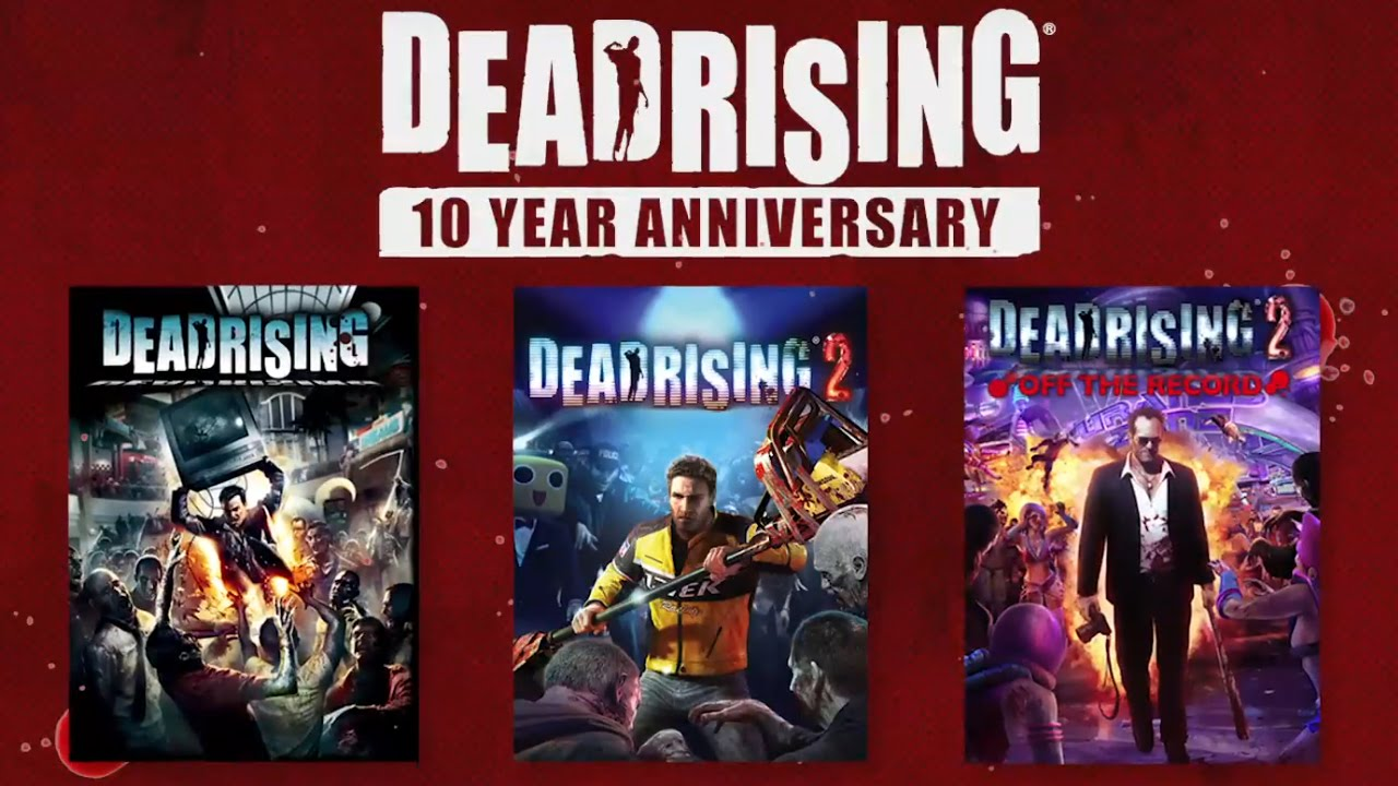Dead rising 10th anniversary edition - кровь и кишки