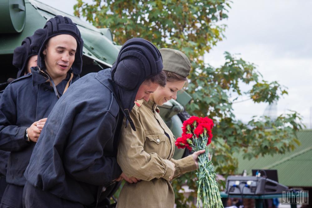 День танкиста с wargaming на «линии сталина»