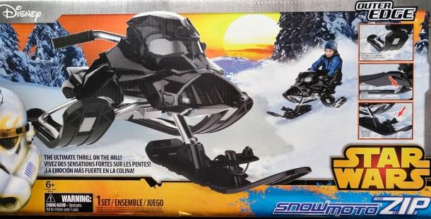 Детский снегокат в стиле дарта вейдера snowmoto zip