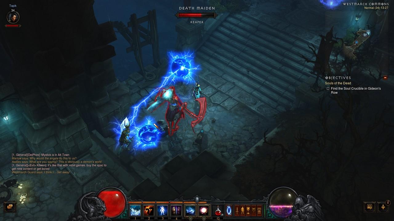 Diablo iii: reaper of souls - первый взгляд на збт
