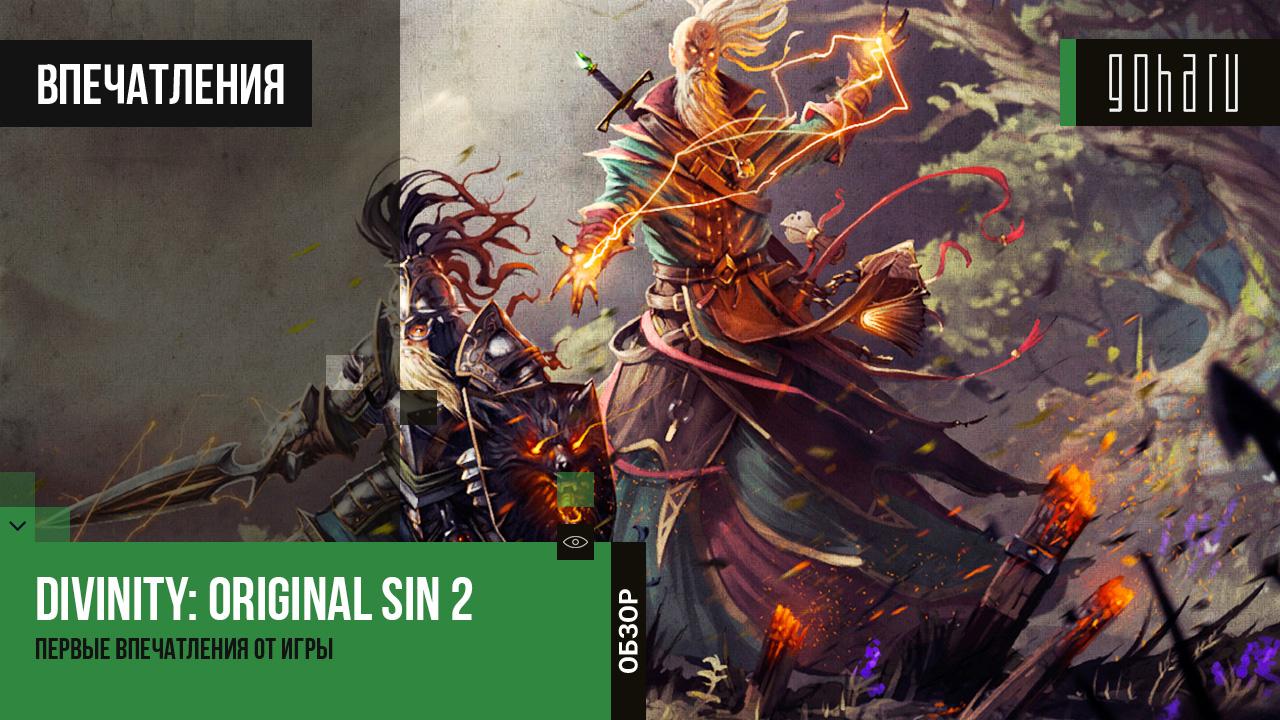 Divinity: original sin 2 - первый взгляд