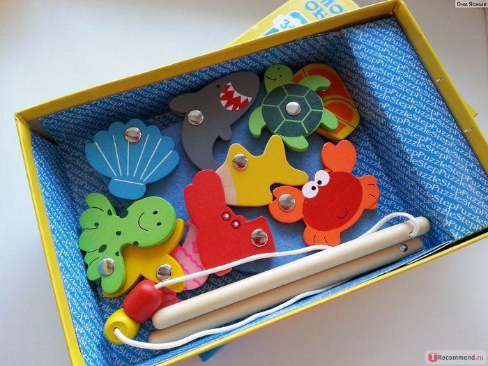 Дорожная игра. морские обитатели (игра рыбалка)