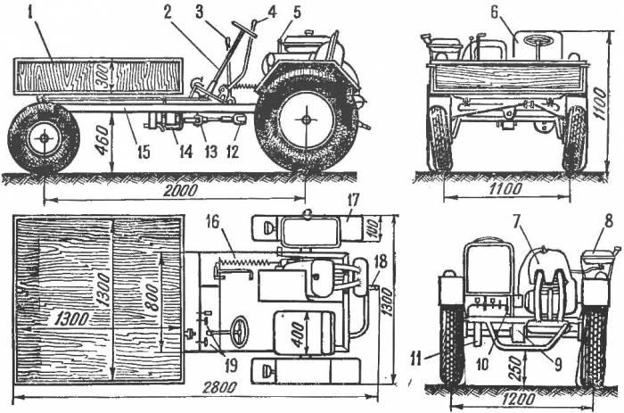 «Дубровец» — трактор школьный