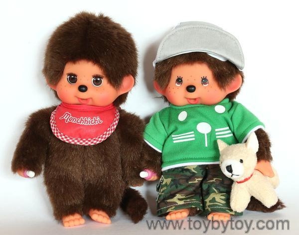 Два мальчика-обезьянки мончичи