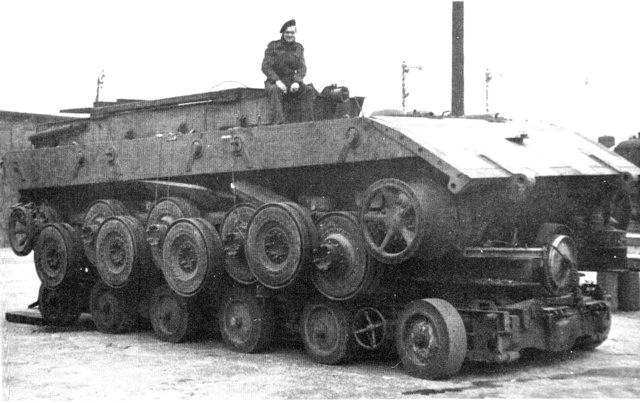 Е-100 - чудо-оружие третьего рейха (четвертая статья)