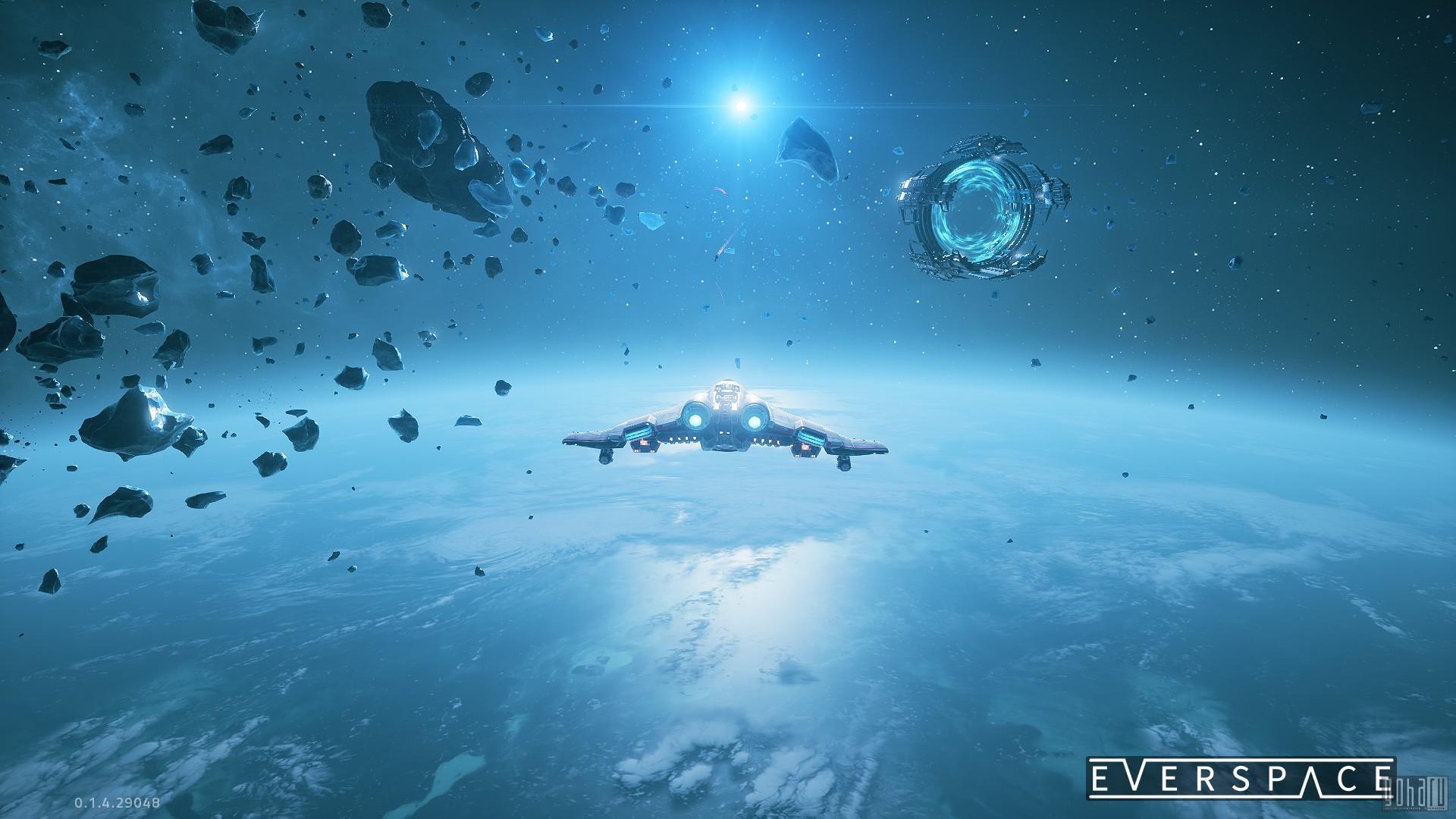 Everspace - занятный космический roguelike