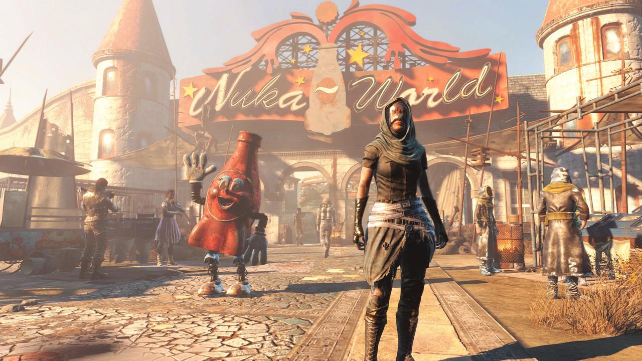 Fallout 4 - дополнение nuka-world
