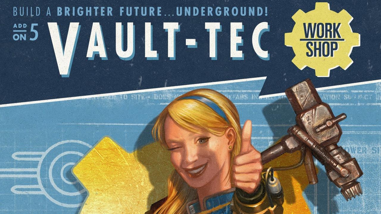 Fallout 4 - дополнение vault-tec workshop
