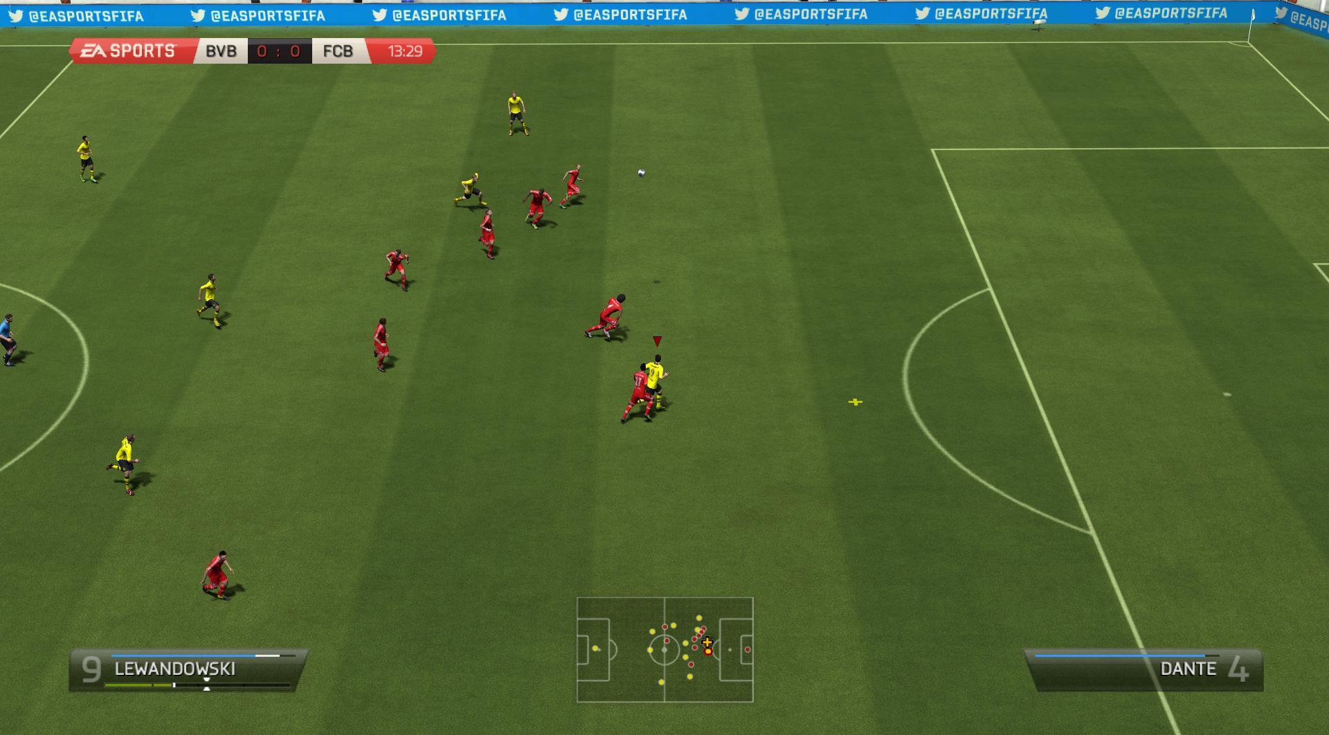 Fifa 14 - мечта дирижера