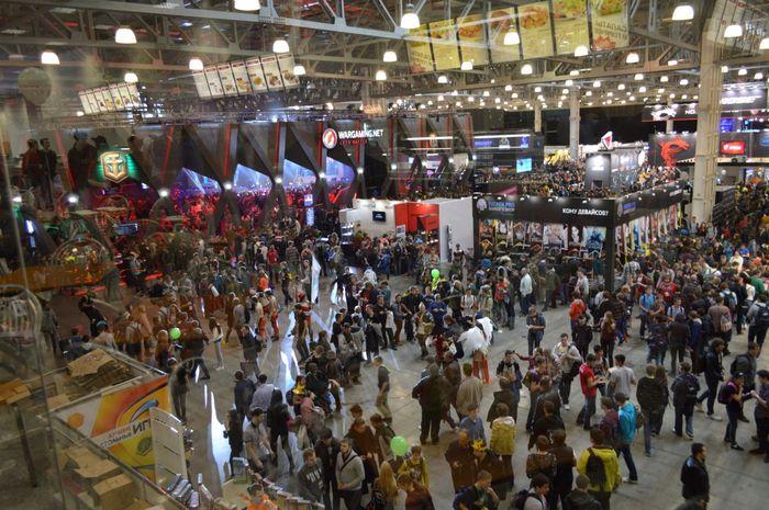 Фоторепортаж с третьего дня выставки игромир 2015