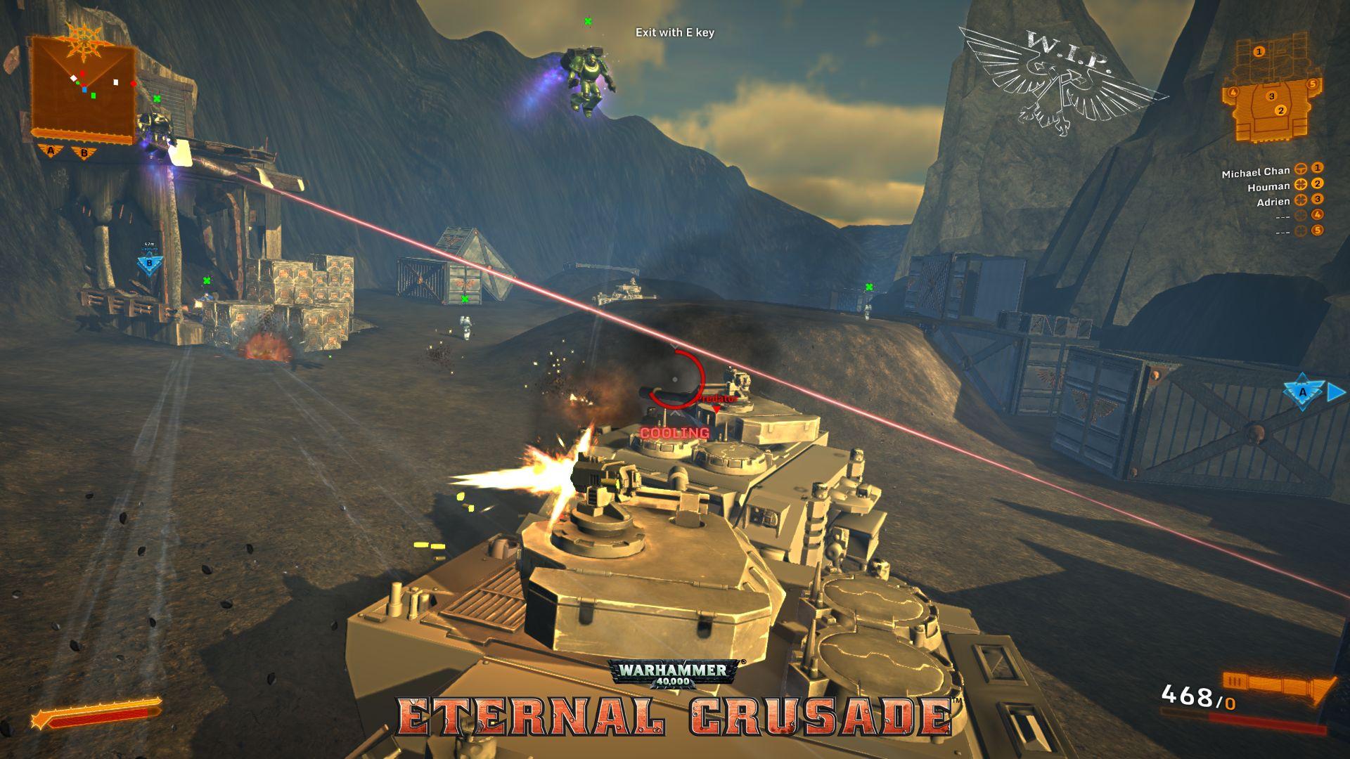 [Gc2014] warhammer 40k: eternal crusade - rvr никогда не наскучит! интервью goha.ru