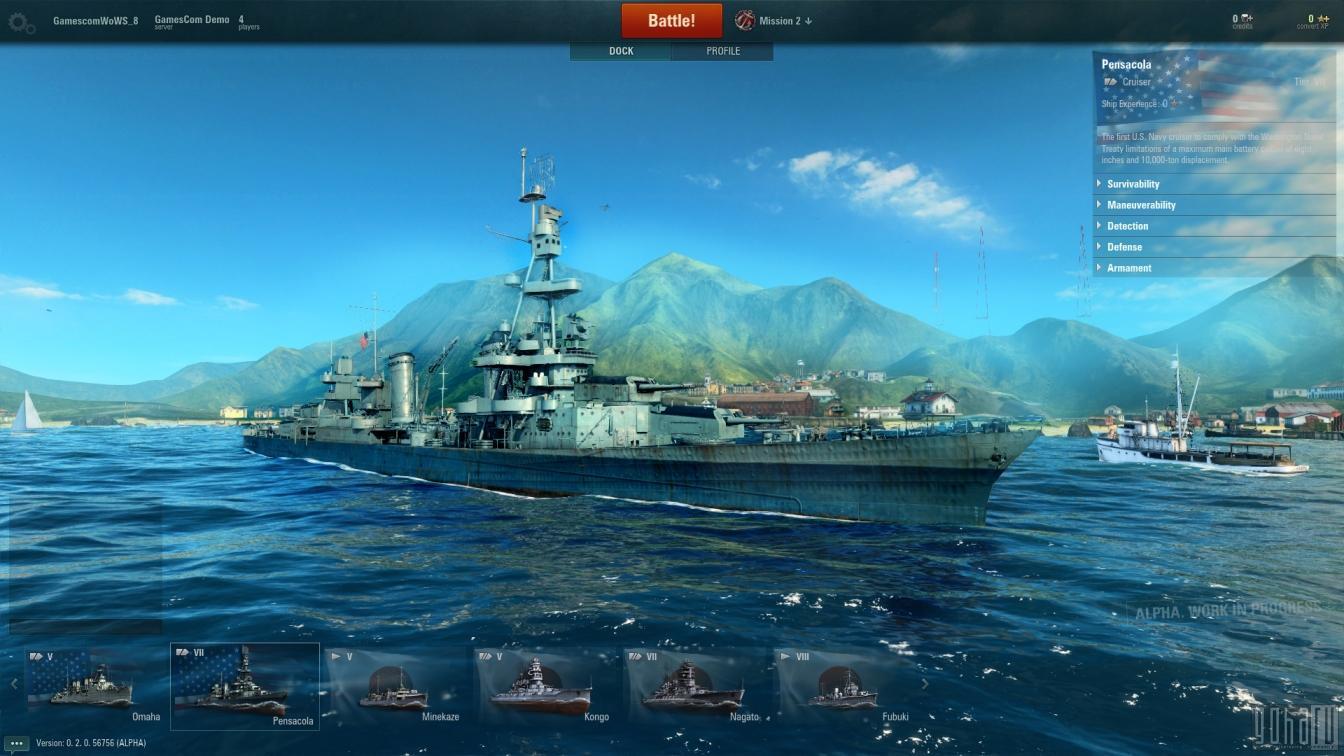 [Gc2014] world of warships - интервью и впечатления от игры