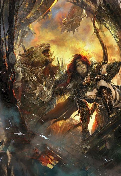 Guild wars 2 - предрелизное превью