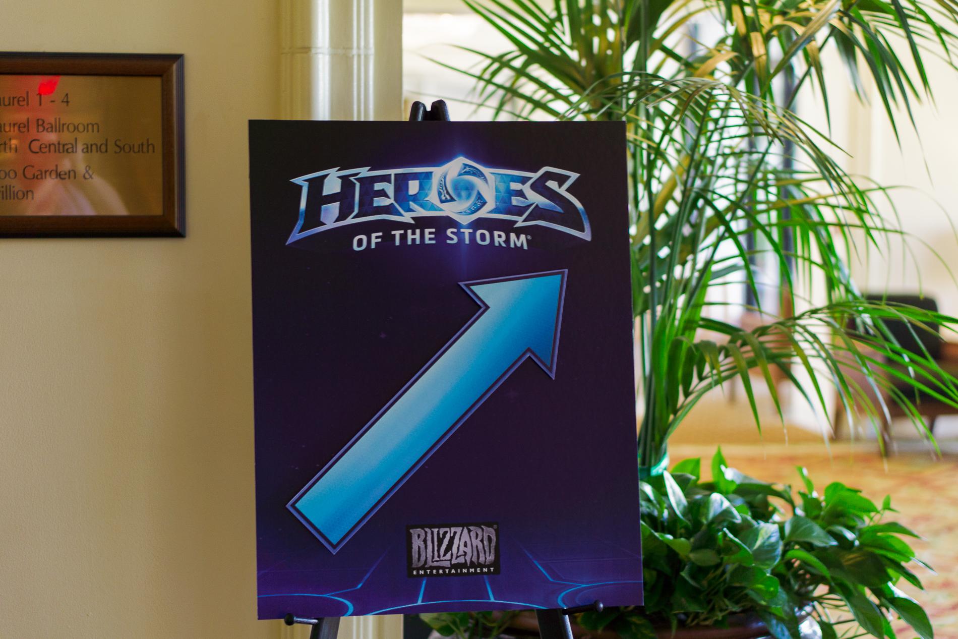 Heroes of the storm - мероприятие для прессы и сообщества