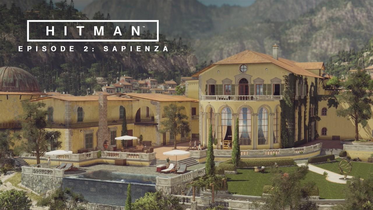 Hitman - эпизод 2: sapienza