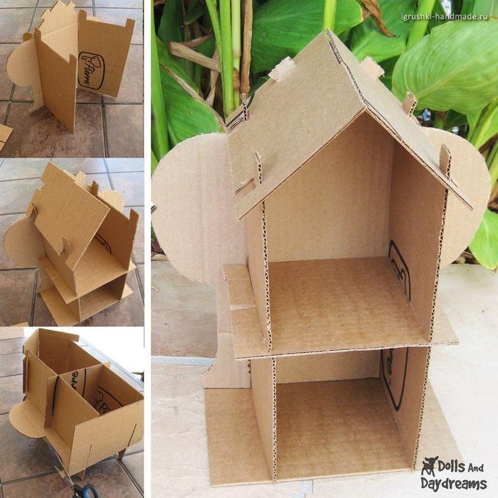 Игрушечная мебель для кукольного домика: делаем сами!