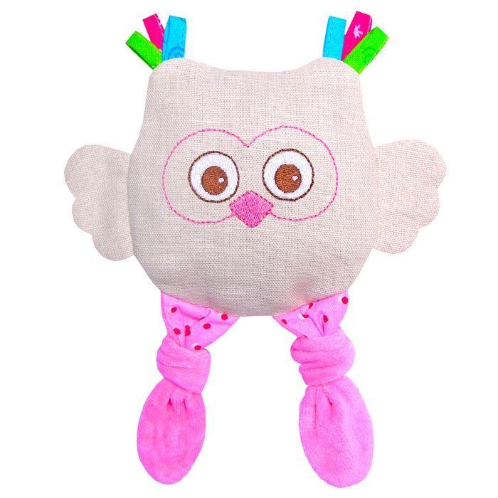 Игрушка с вишнёвыми косточками: совёнок (доктор мякиш), фото обзор