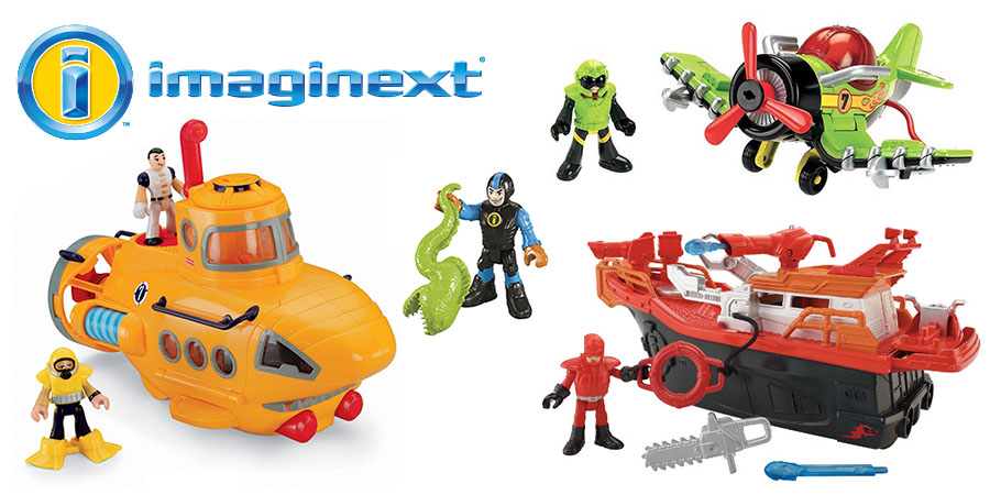 Игрушки imaginext - новинка от компании mattel в магазине toy.ru