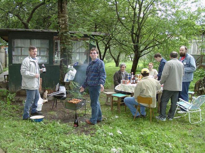 Июнь 2003, сбор в москве
