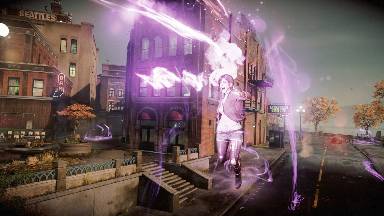 Infamous: first light [ps4]
