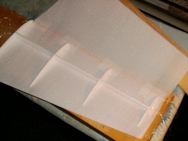 Изготовление авиамоделей из потолочного пенопласта