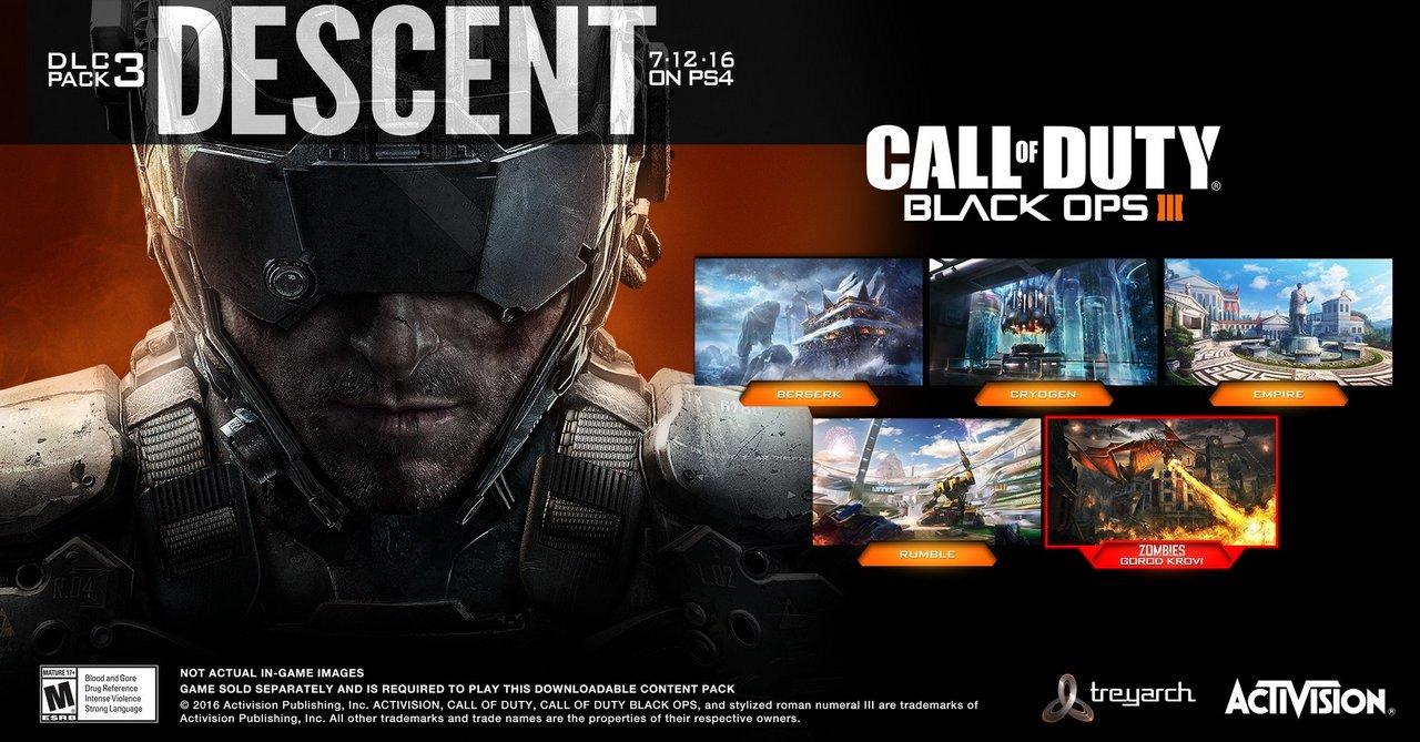 Эксклюзивное интервью по call of duty: black ops 3 - descent