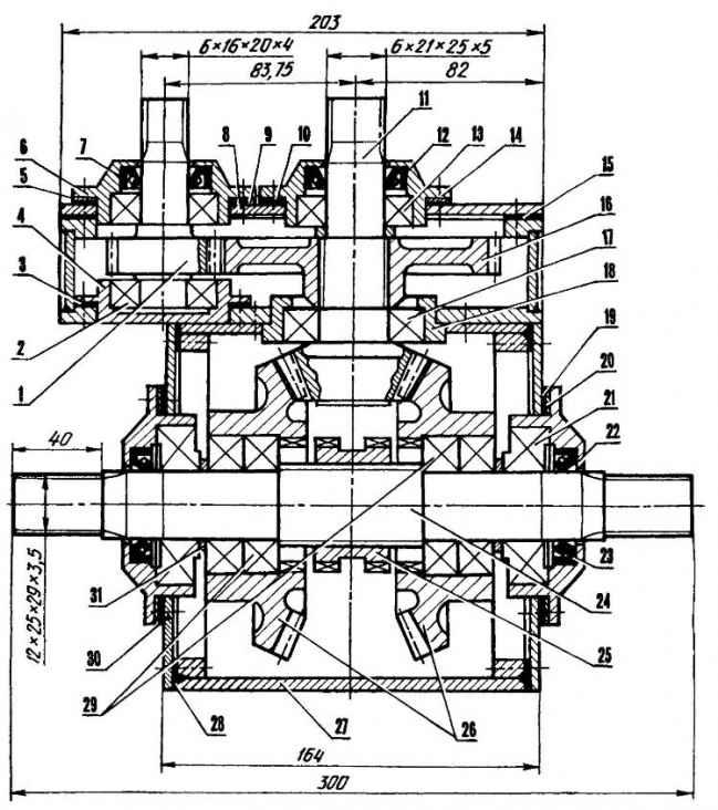 Компактный редуктор — пневмоходу