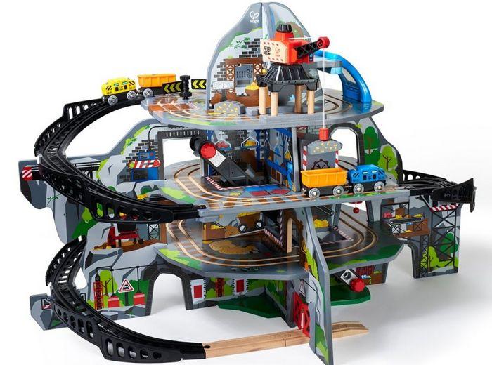 Компания hape представляет новую железную дорогу railway и пазлы george luck puzzles