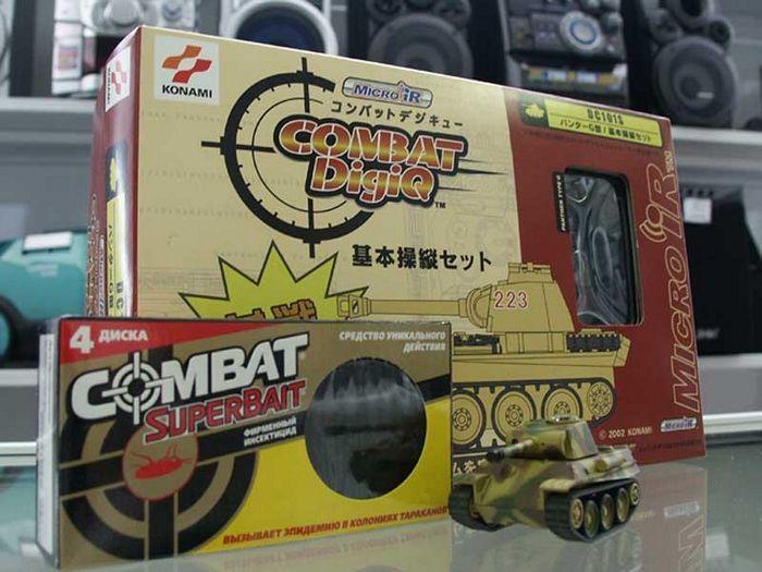 Konami digiq - охотник за тараканами