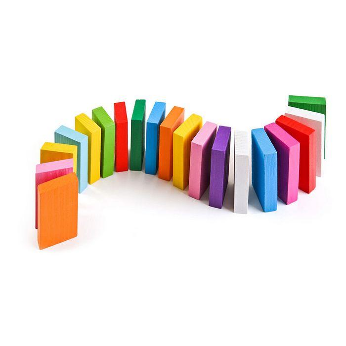 Кубики цветные деревянные, томик, фото обзор