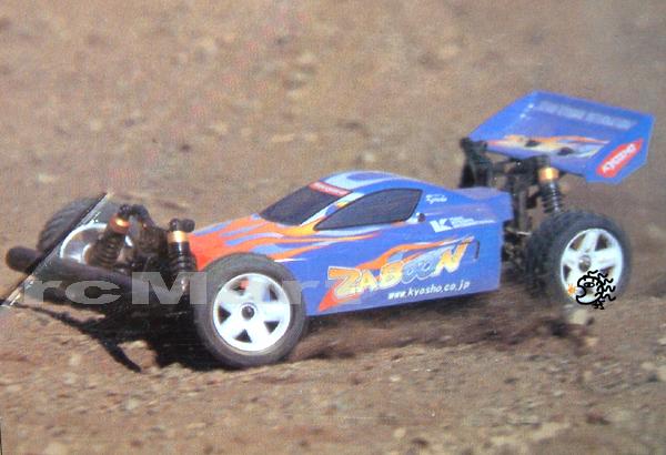 Kyosho zaboon 4wd 1/10 racing buggy